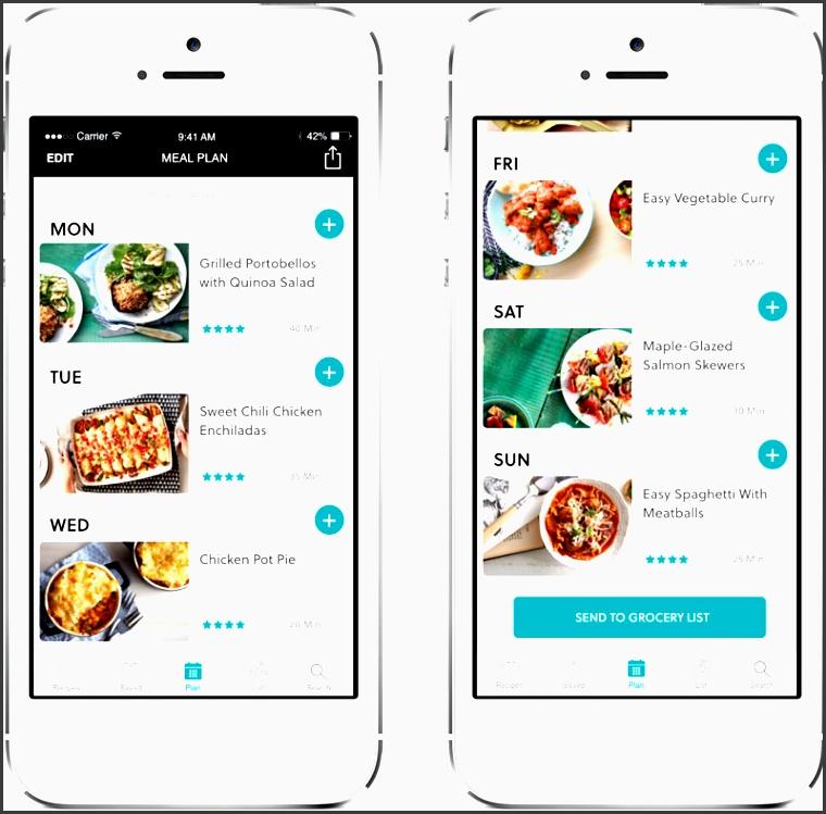 today s parent mealtime app meal plan
