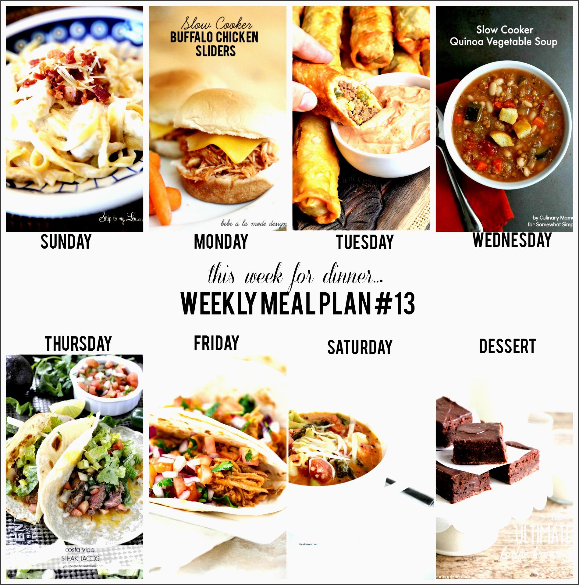 weekly meal plan 13 edited