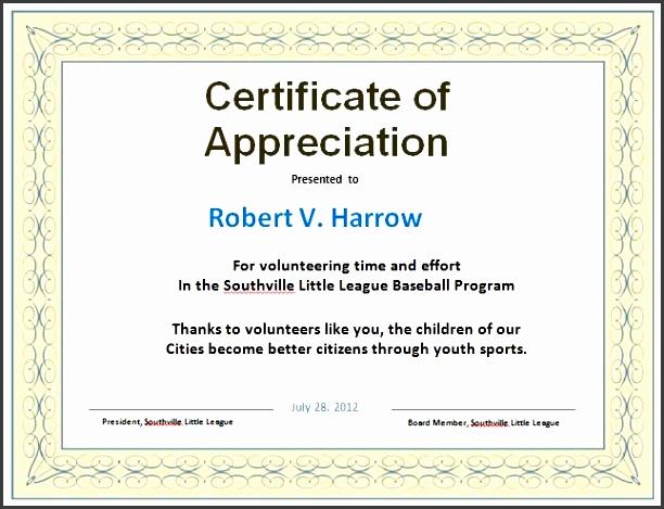 Volunteer certificate appreciation templates free mado volunteer certificate appreciation templates free yadclub Gallery