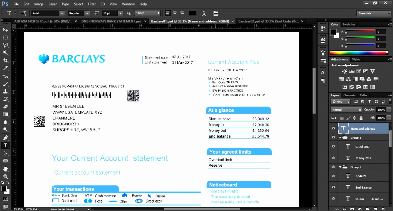convert pdf bank statements to quicken