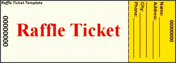 95+ Raffle Tickets Template Word - Raffle Ticket Templates Word ...