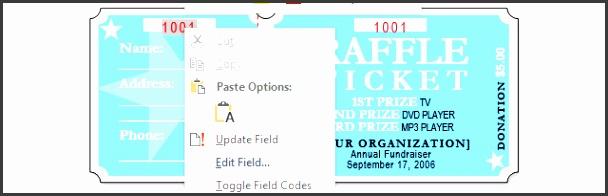 10 editable raffle ticket template sampletemplatess sampletemplatess. Black Bedroom Furniture Sets. Home Design Ideas