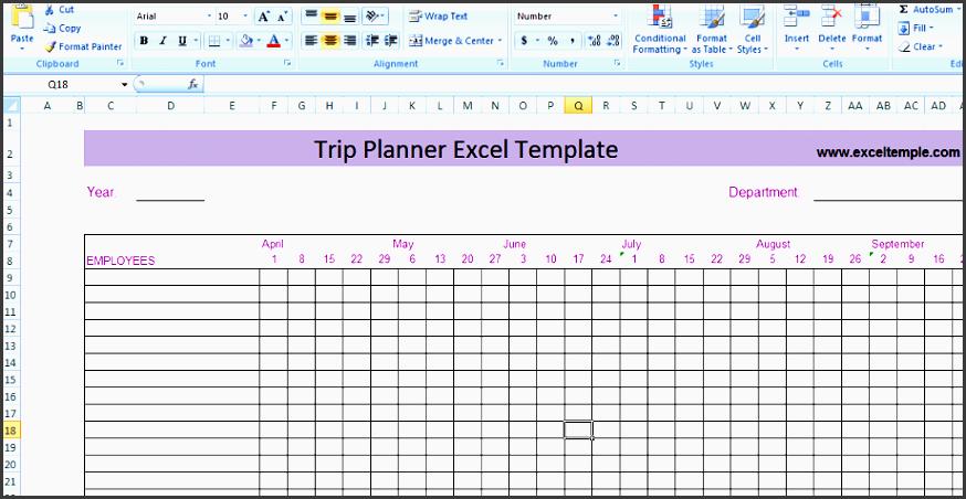9 editable travel plan template sampletemplatess sampletemplatess. Black Bedroom Furniture Sets. Home Design Ideas