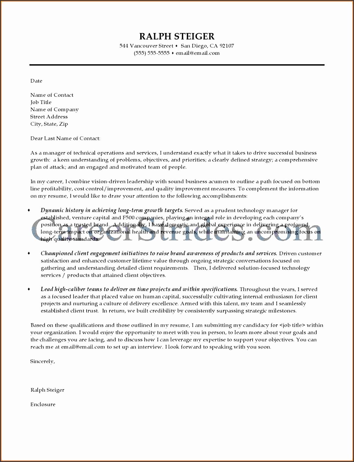 6  effective business proposal sample letter