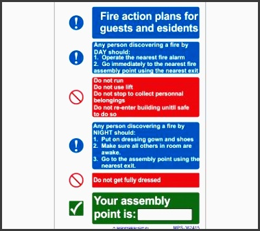 mps fire action plan