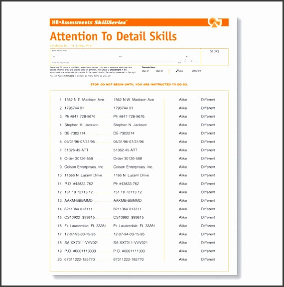 7 employee skills assessment template - sampletemplatess