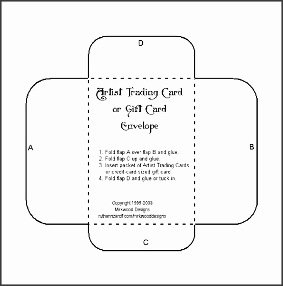 6+ Envelop Template In...