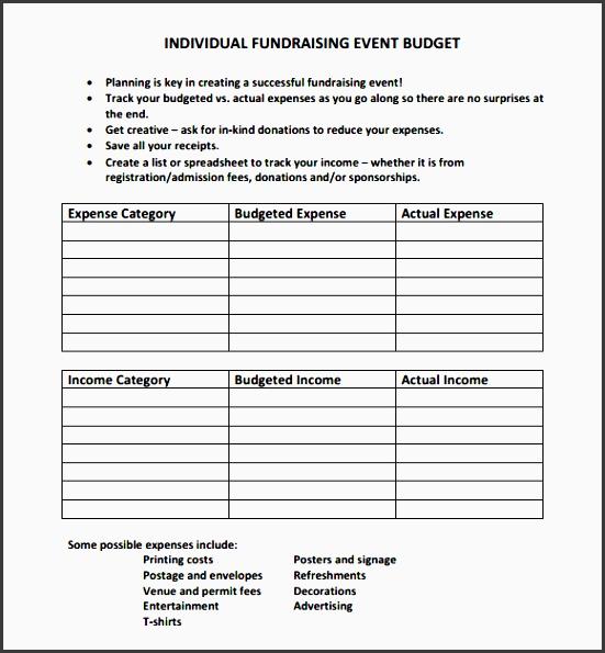 9 event budget planner template sampletemplatess sampletemplatess. Black Bedroom Furniture Sets. Home Design Ideas