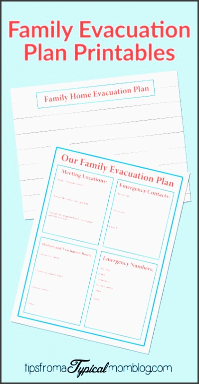 5 family emergency plan for free sampletemplatess for Fire escape plan worksheet