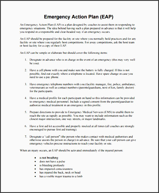 9 family emergency plan template sampletemplatess emergency action plan expert system osha food allergy anaphylaxis emergency care plan fare s food allergy pronofoot35fo Image collections
