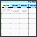 family travel itinerary template regarding travel itinerary template google docs