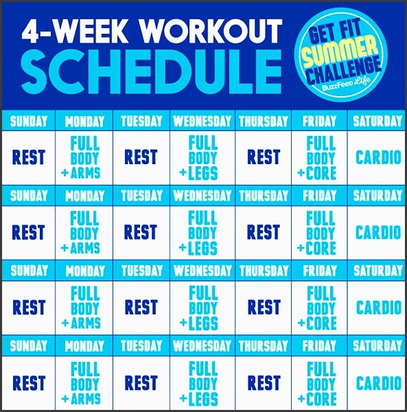 the fit summer challenge is a 4 week strength and cardio workout plan created by nyc based trainer jessi kneeland nasm of remodel fitness