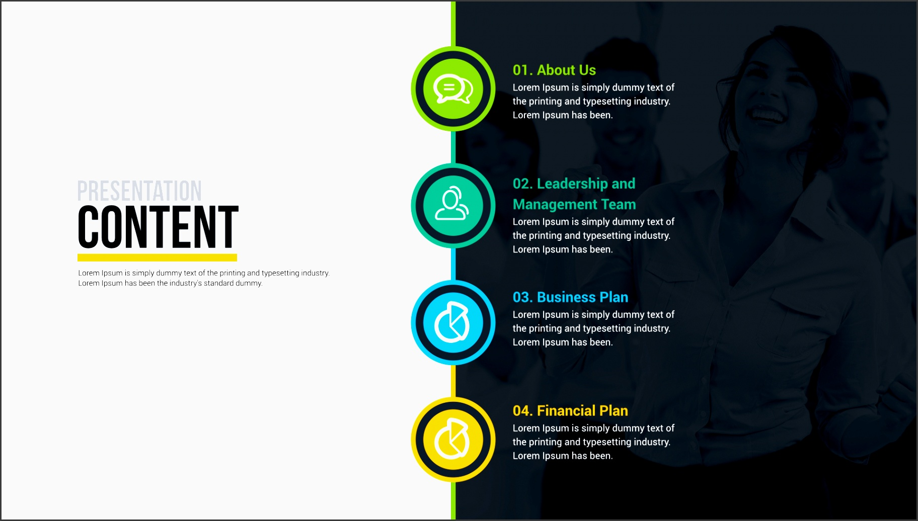 business plan powerpoint presentation free