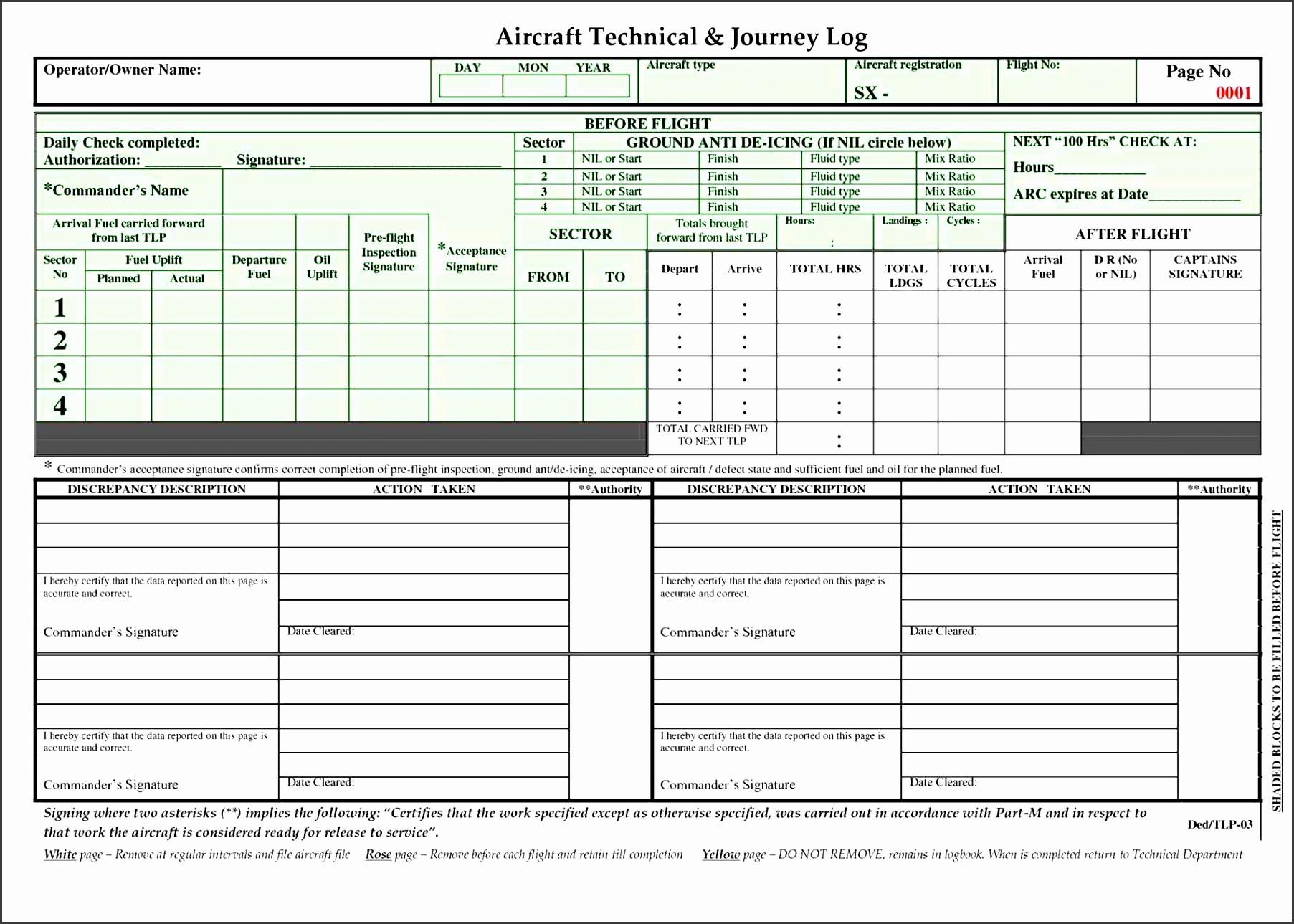 log freewordtemplatesnet lost flight log template and found log freewordtemplatesnet aircraft book template daily activity aircraft