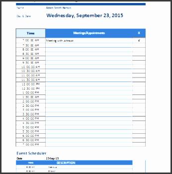8 daily work log templates