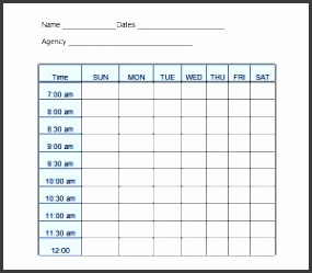 daily work log templates
