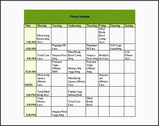 11 Free Fitness Plan Online - SampleTemplatess ...
