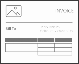 mercial invoice template