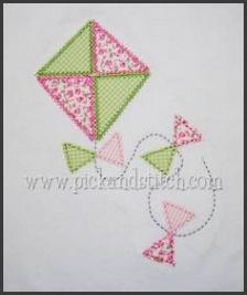 kite applique design