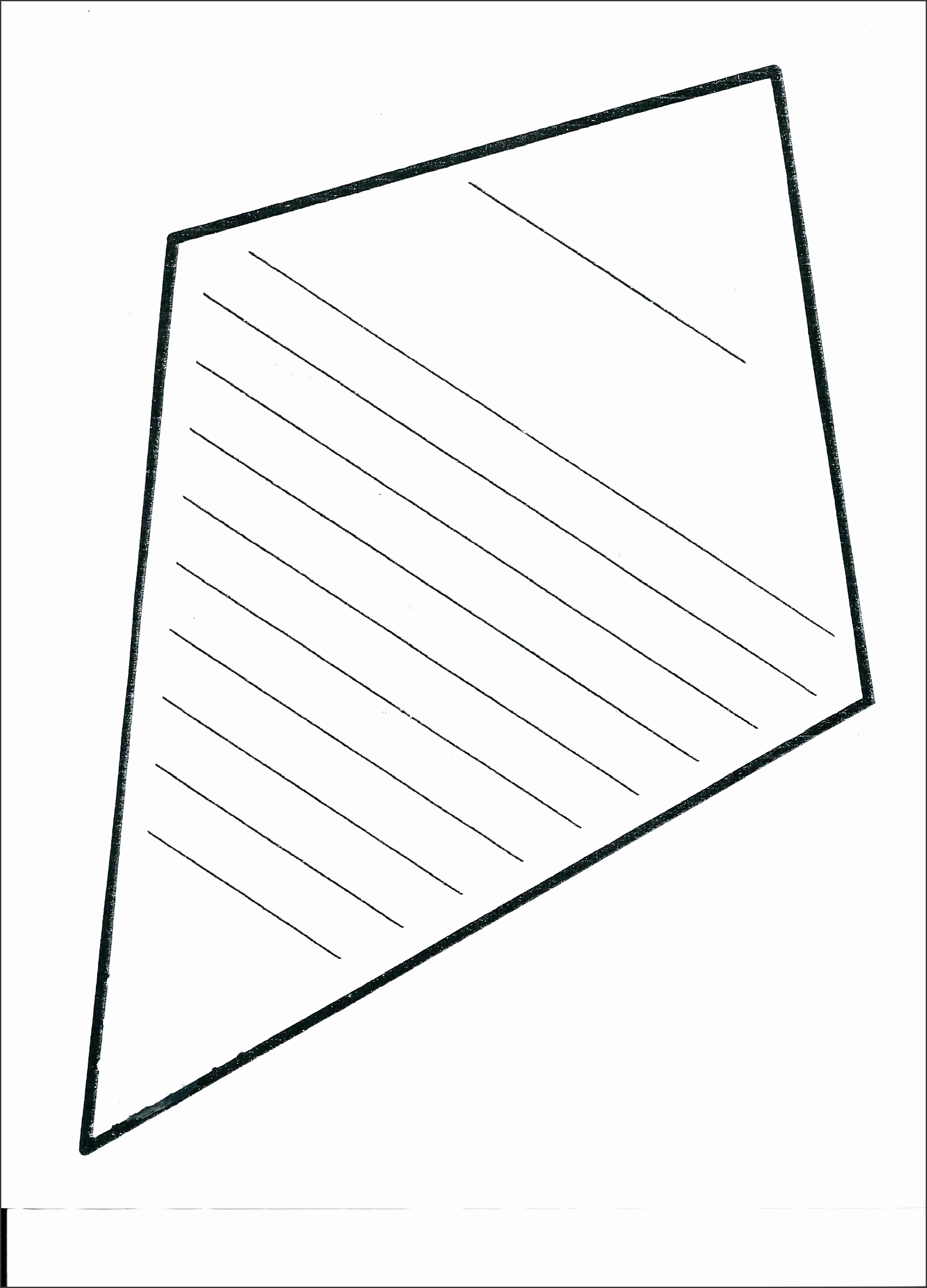 kite template with pictures full size