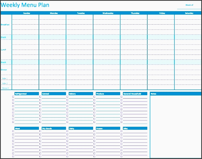 this template the weekly menu planner template helps families figure out what