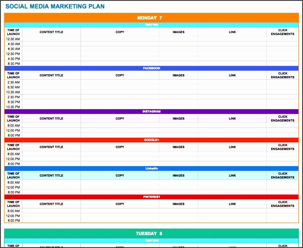 socialmediamarketingplan 0 social media marketing plan template