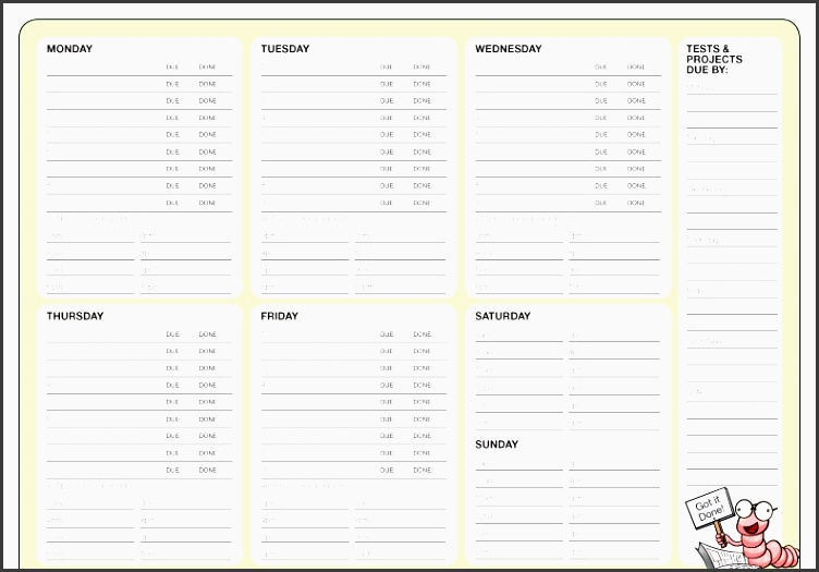 weekly planner template image 6 1