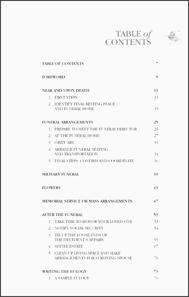 7 funeral planning checklist example - sampletemplatess