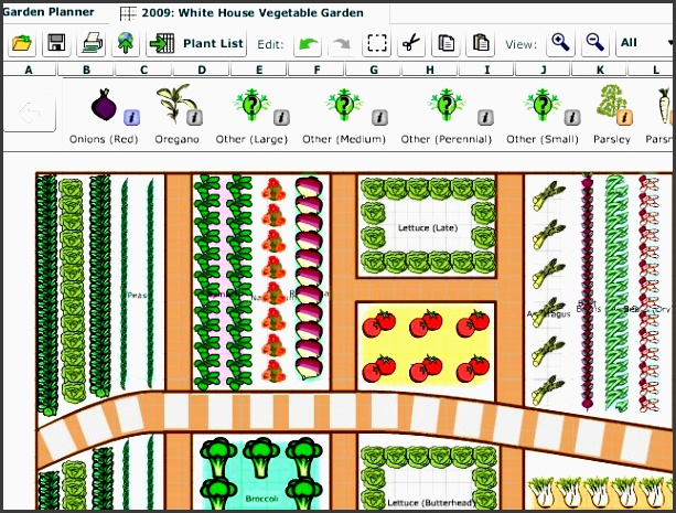 8 Garden Planner Layout Sampletemplatess Sampletemplatess