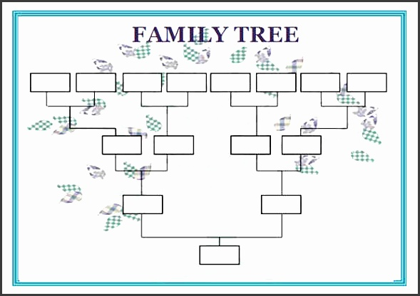 genogram template powerpoint 3 generation genogram