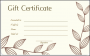 11 Gift Certificate Sample