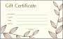 11 Gift Certificate Sample