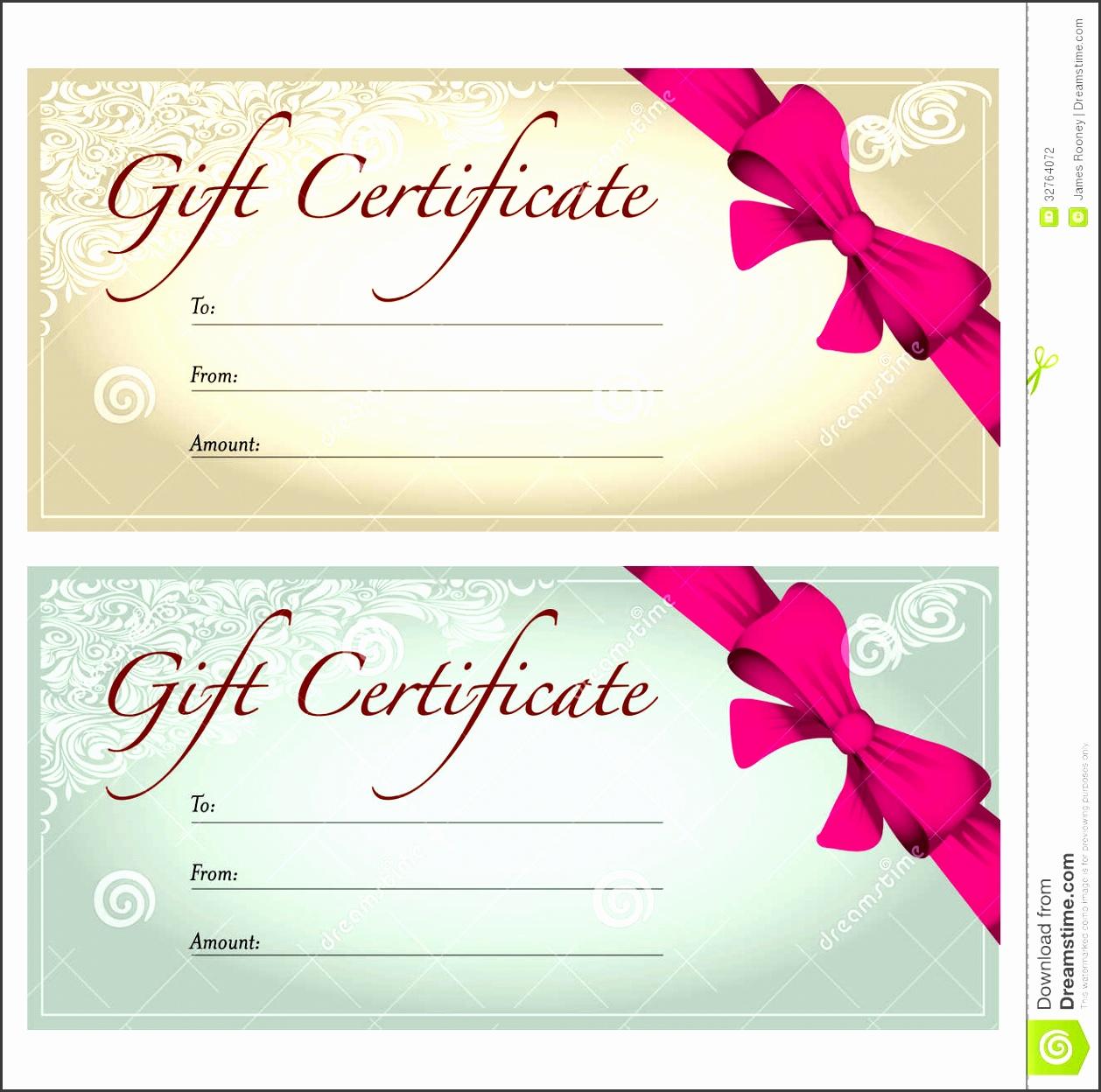 best photos of t certificate voucher template