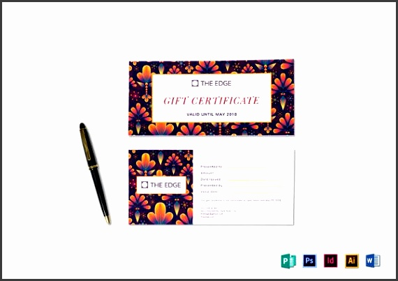 6 gift voucher template easy to edit sampletemplatess simple t certificate template to print yadclub Gallery