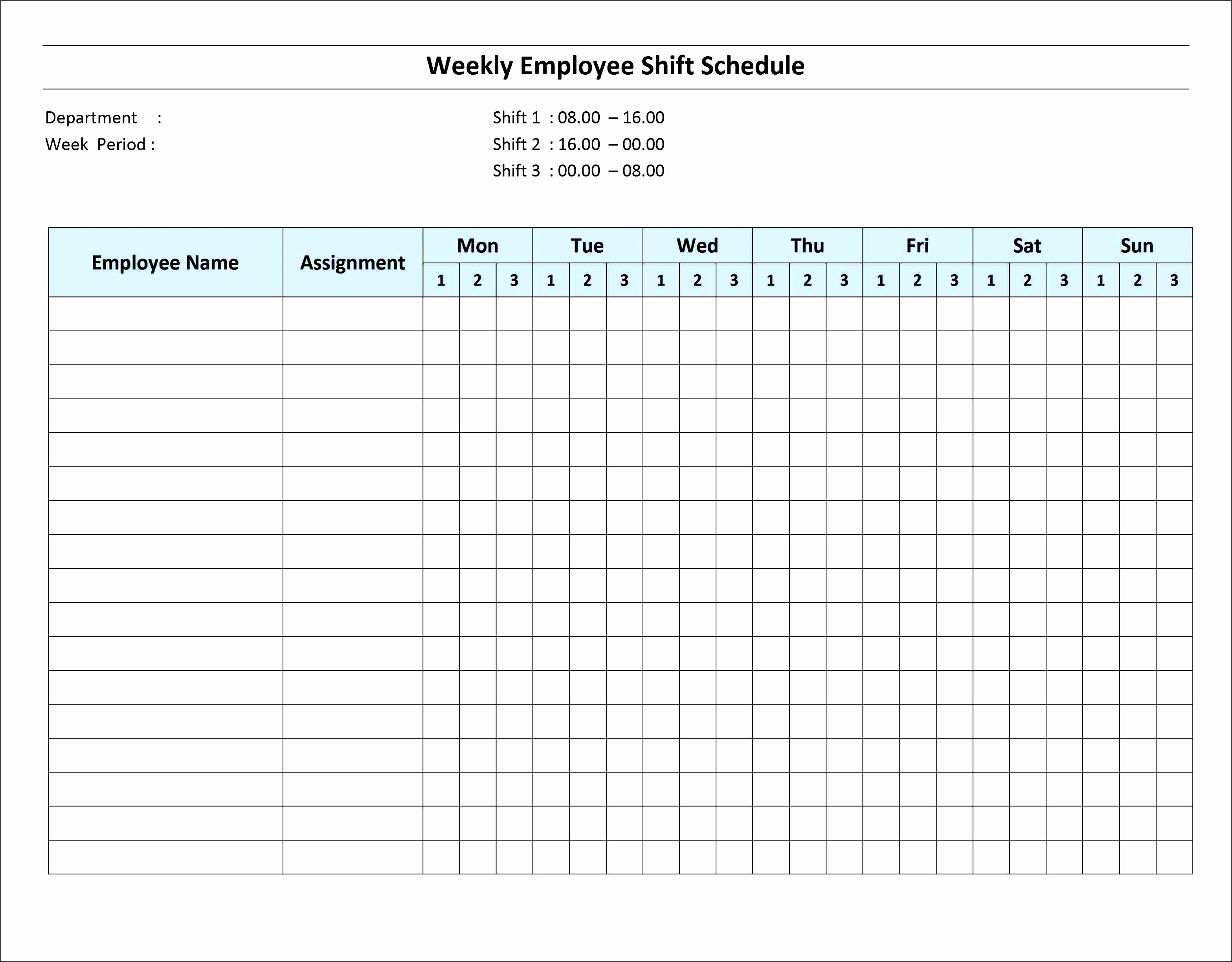 daily shift schedule template - 10 how to create daily work schedule in excel