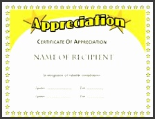 formal appreciation certificate template appreciationword appreciationtemplate appreciationcertificate appreciationwordtemplate pinterest