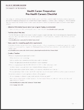 health career preparation