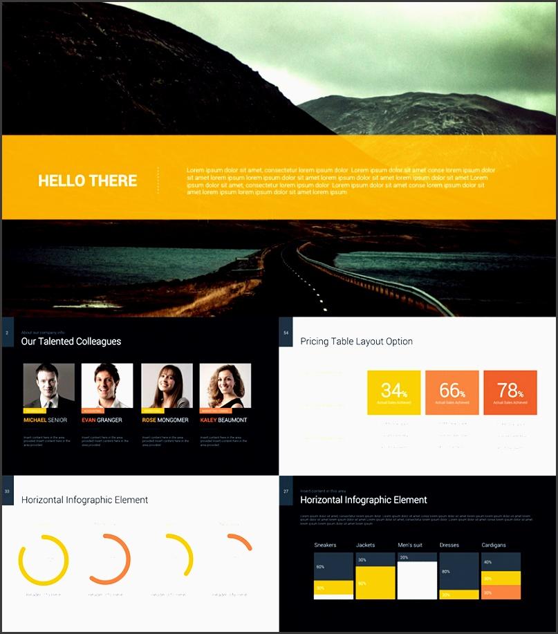 decker data rich powerpoint business pitch template