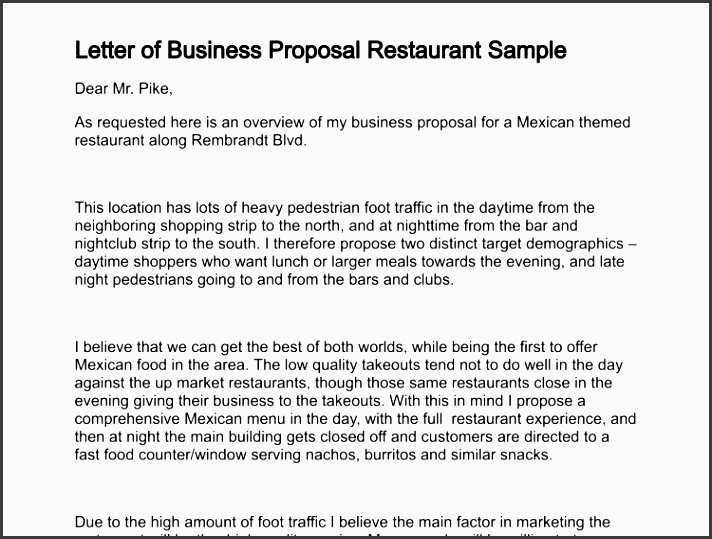 how to make a business proposal