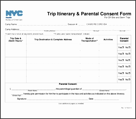 11 trip itinerary templates free sample example format