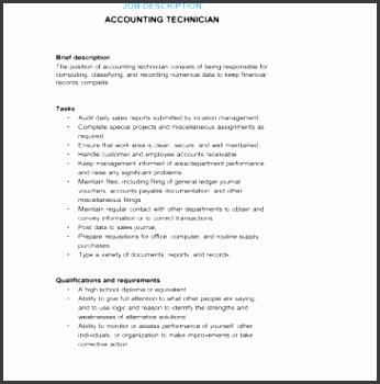 9 job description templates