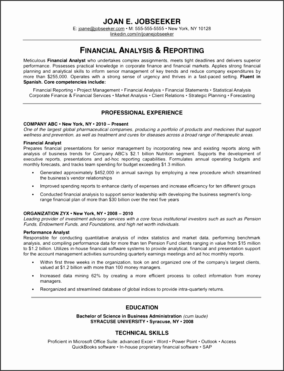 best resume examples examples samples of resume example for resume example of pertaining to resume 5
