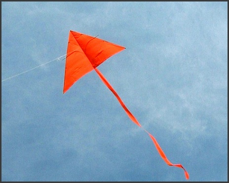 how to fly a kite like this simple home made delta