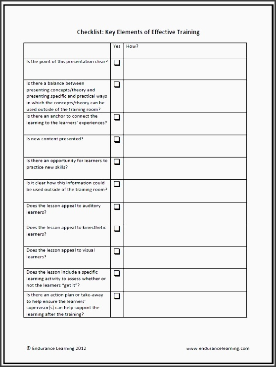 facilitation plan template - 9 lesson plan checklist template sampletemplatess