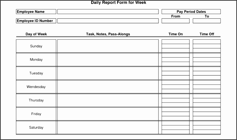 monthly marketing report template and daily activity report
