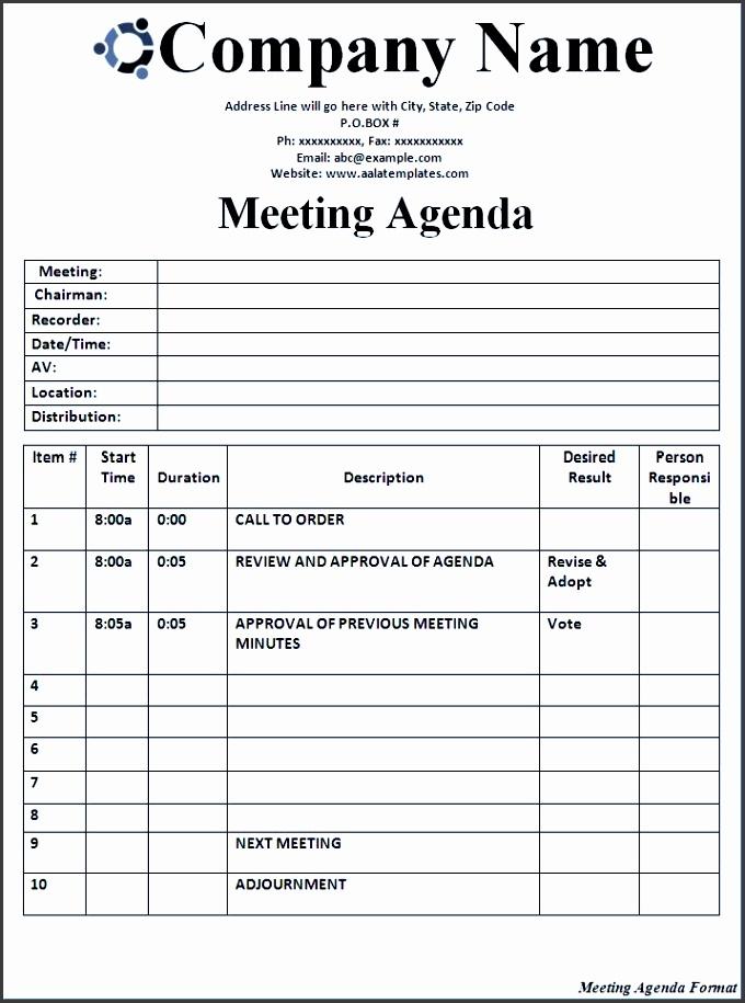6 meeting agenda templates sampletemplatess sampletemplatess. Black Bedroom Furniture Sets. Home Design Ideas