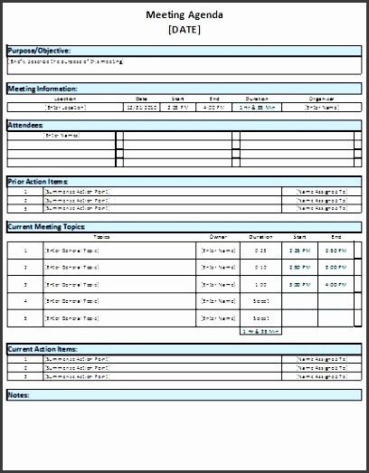 6 meeting planner template sampletemplatess sampletemplatess. Black Bedroom Furniture Sets. Home Design Ideas