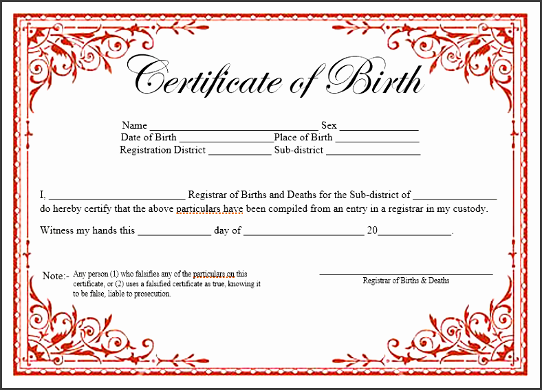 birth certificate ms word template 02
