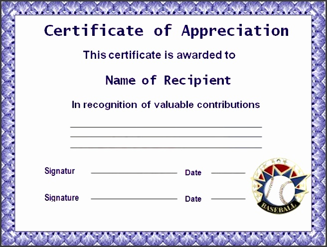 9 ms word certificate of appreciation template sampletemplatess 10 best images of certificate templates for word 2010 free yelopaper Choice Image