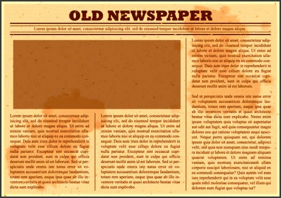 45 printable newspaper templates free and premium templates within old blank
